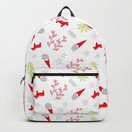Scandi Christmas Gnomes Backpack