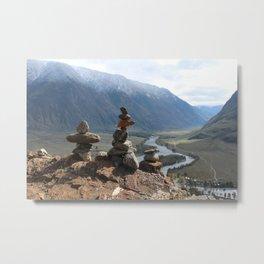 Altai mountains Metal Print