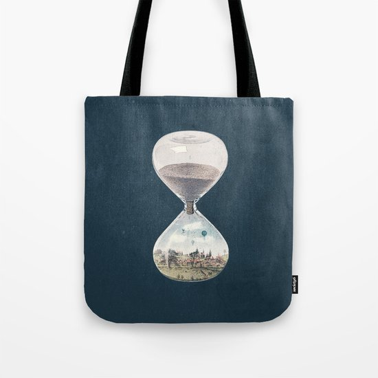 There's A City Where Time Stopped Long Ago Tote Bag