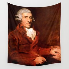 Franz Joseph Haydn (1732-1809) by John Hoppner in 1791 Wall Tapestry