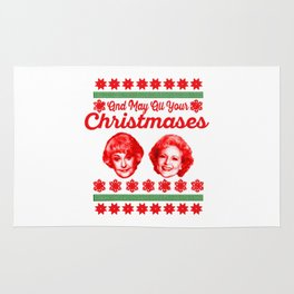 Golden Girls Christmas copy Rug