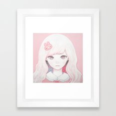 Usagi February Framed Art Print