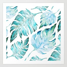 love tropical Art Print