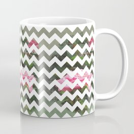 Pink Roses in Anzures 5  Chevron 3T Coffee Mug