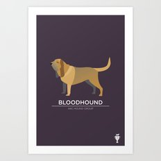 Bloodhound Art Print