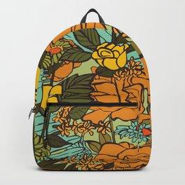 retro garden Backpack