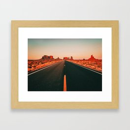 Road Trip III Framed Art Print