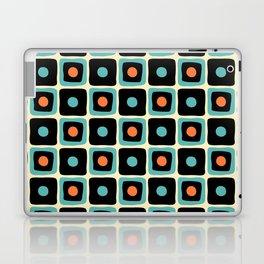 Mid Century Square Dot Pattern 4 Laptop & iPad Skin