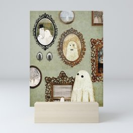 There's A Ghost in the Portrait Gallery Mini Art Print