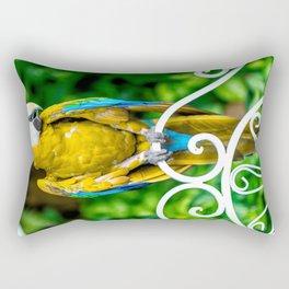 Macaw3 Rectangular Pillow
