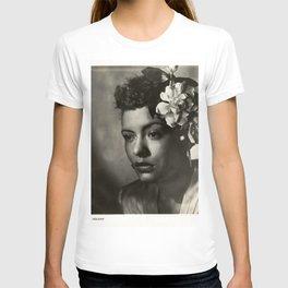 Billie Holiday, 1940's Portrait T-shirt