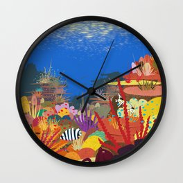 The Coral Reef That Once Was... Wall Clock