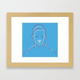 Perfectly Queer  Framed Art Print