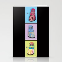 dalek Stationery Cards featuring Dalek Dreams by Megs stuff...