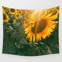 summer in the fields Wall Tapestry