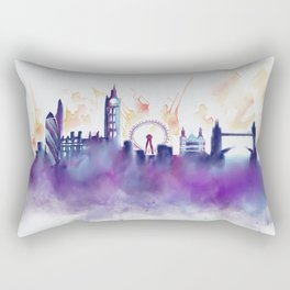 London Skyline Rectangular Pillow