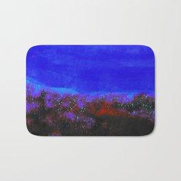 """Moonlight"" Digital Painting // Fine Art Print Bath Mat"
