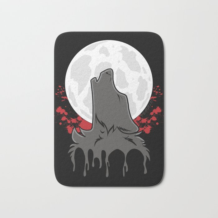 Howl at the Moon (Awoo) Bath Mat