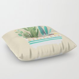 Desert planter Floor Pillow