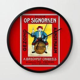 Mechelen doll Wall Clock
