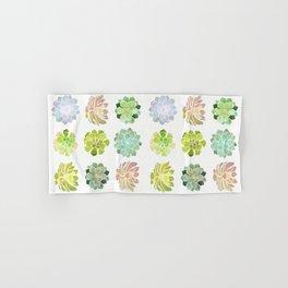 Spring Succulents Hand & Bath Towel
