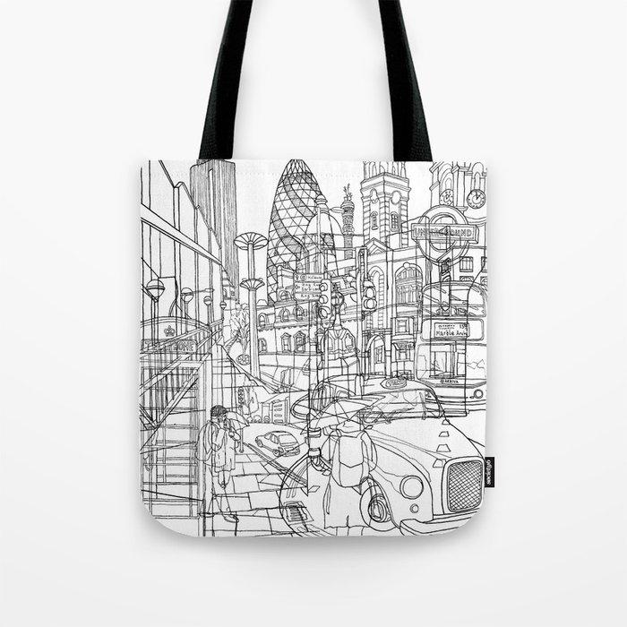 London! Tote Bag