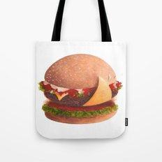 Best burger Tote Bag