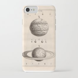 """Planets from Thomas Wright's """"An Original Theory or New Hypothesis of the Universe,"""" 1750 iPhone Case"""