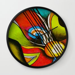 Untitled (Guitar)  Wall Clock