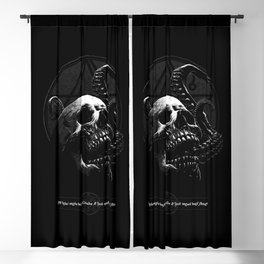 Tentacle skull design - Cthulhu chant Blackout Curtain