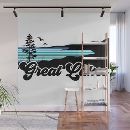Great Lakes Coast Wall Mural