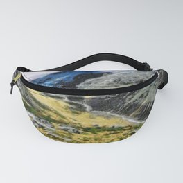 The top of Ben Nevis, Scotland, is shaded by clouds. Fanny Pack