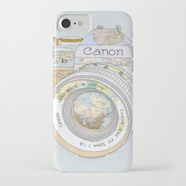 TRAVEL CAN0N iPhone Case