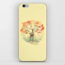 Essence of Nature - A Deer's Echo iPhone Skin