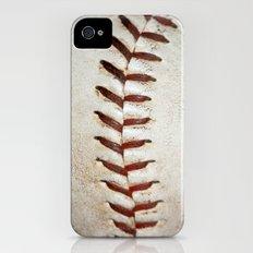 Vintage Baseball Stitching Slim Case iPhone (4, 4s)