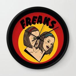 Freaks Bette & Dot Wall Clock