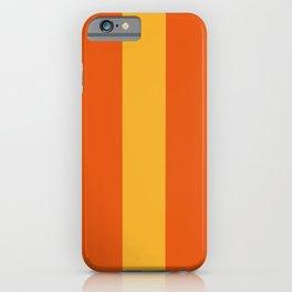 Sunshine Boardwalk Stripes #Lines #Minimalism iPhone Case