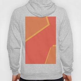Pink and yellow Hoody