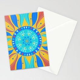 Mystic Eye Swirl Mandala Stationery Cards
