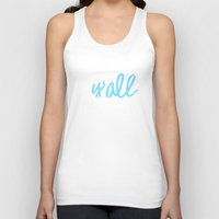 kentucky Tank Tops featuring Kentucky Y'all by Alda & Company