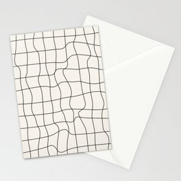Warp Grid: Off-White Day Edition Stationery Cards