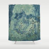 kitchen Shower Curtains featuring Galaxy Kitchen by Motif Mondial