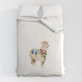 Peruvian Llama Comforters