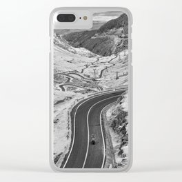 Transfagarasan #7 Clear iPhone Case