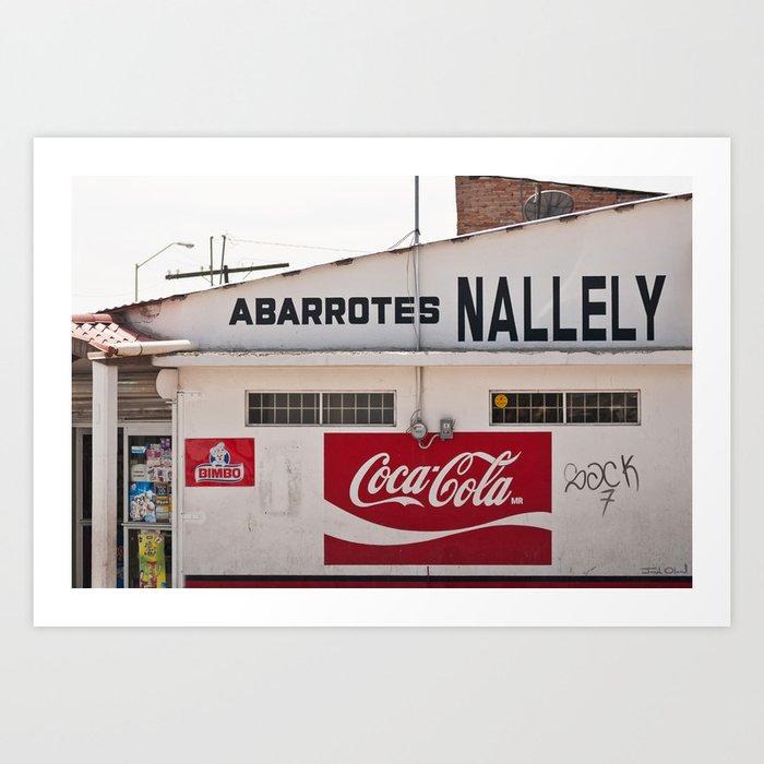 Coca Cola In Mexico Art Print