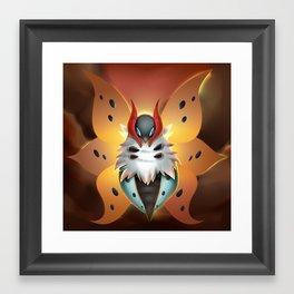 Volcarona Framed Art Print