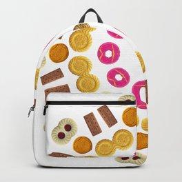 Kaleidoscope Biscuit Circular Pattern Backpack