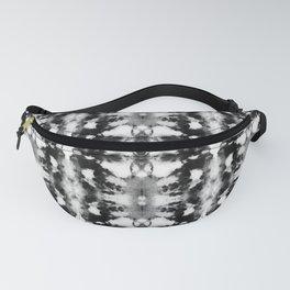 Tie-Dye Blacks & Whites Fanny Pack