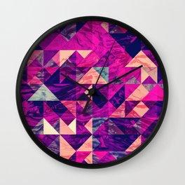 Geometric VI Wall Clock