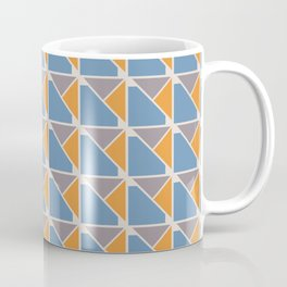 Retro Geometry surface pattern Coffee Mug